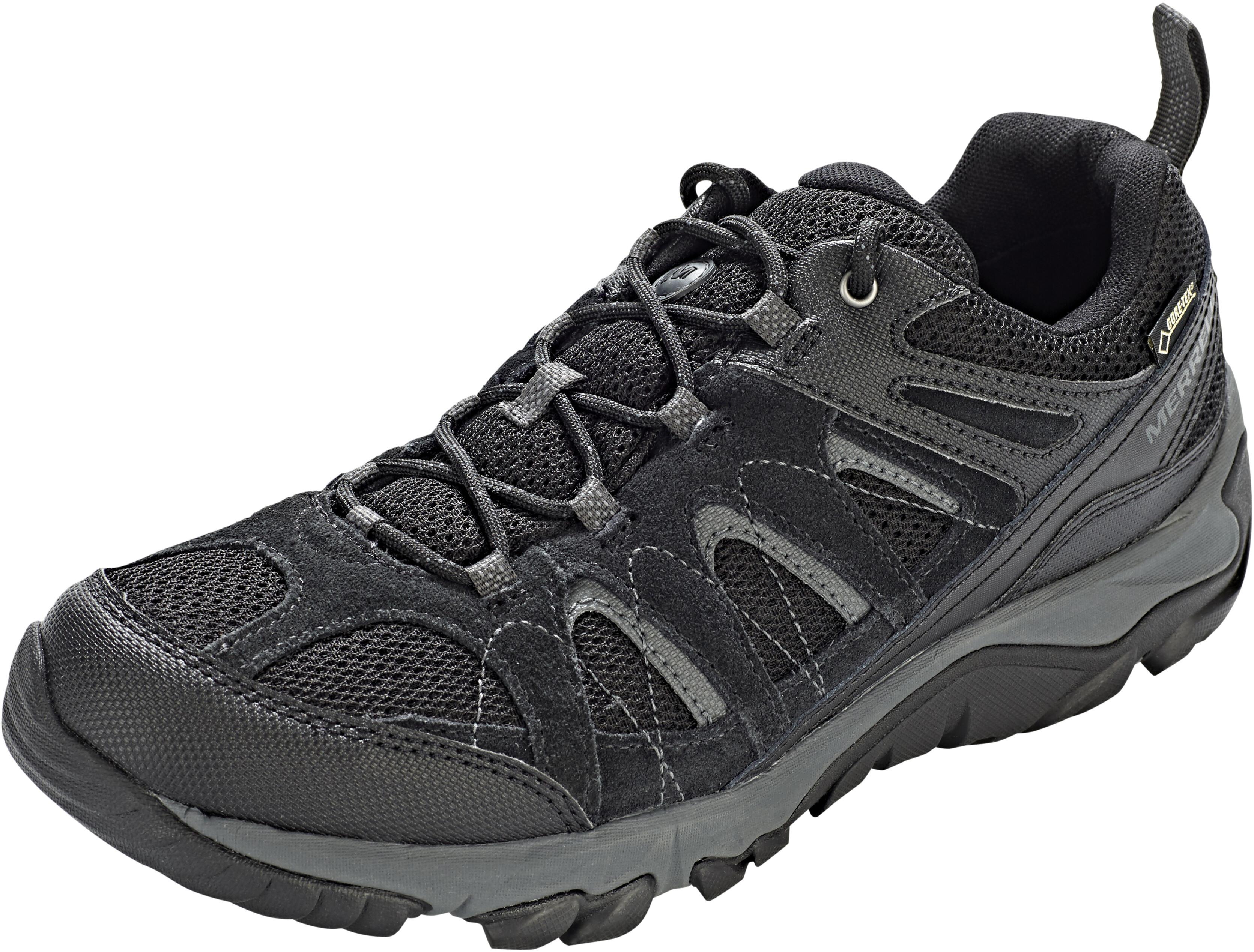 Merrell Outmost Vent GTX - Chaussures Homme - noir sur CAMPZ ! 0d1fe5d2191